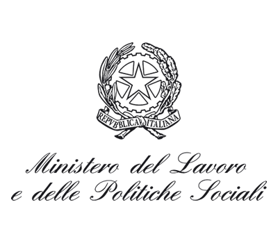 Logo of the Italian Ministry of Social Policy