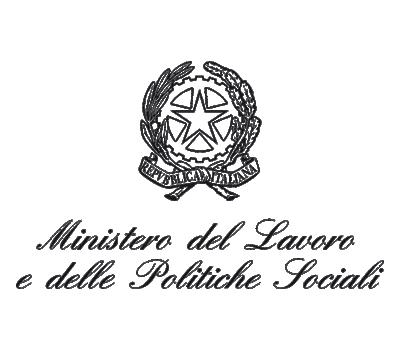 Logotipo del ministerio de política social italiano