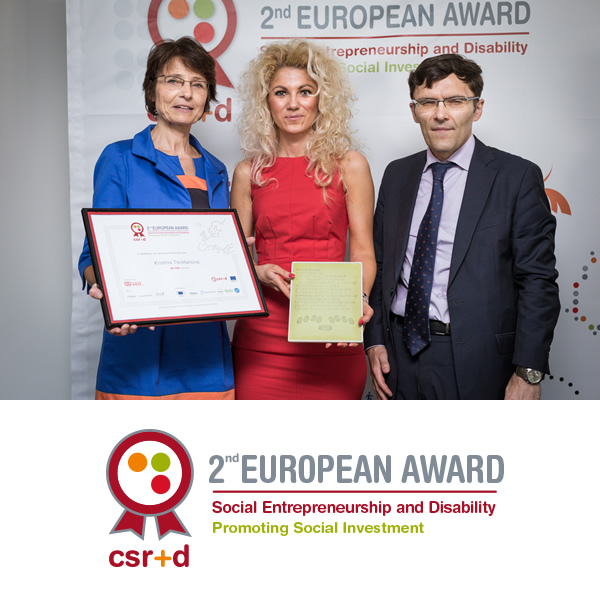Image of Winner of the Second European Award for Social Entrepreneurship and Disability