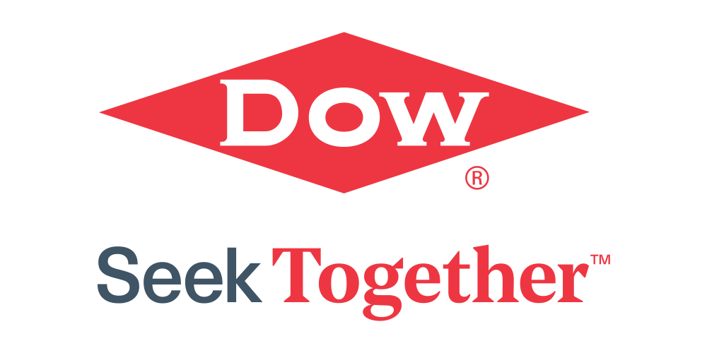 Logo dow diamond seek together
