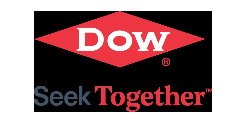 Logo dow diamond seek together